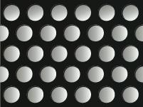 アルミパンチングメタル-ブラック